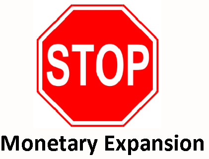 Stop Monetary Expansion